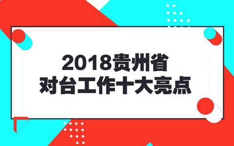 2018贵州省对台工作十大亮点