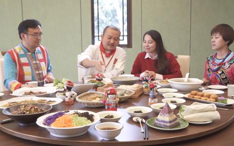 春节期间云南特色美食文化节在台举办 台湾同胞体验舌尖上的云南