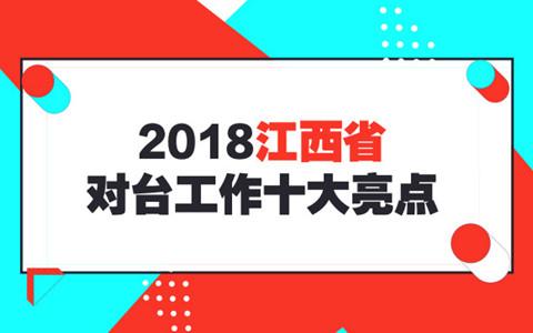 2018年江西省对台工作十大亮点