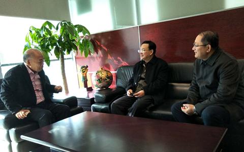 新年伊始 青岛市台港澳办赴北京开展走访活动