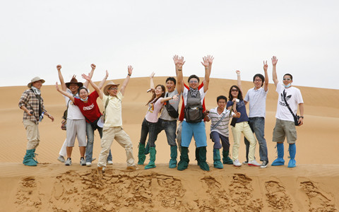 """两岸同胞情 台湾学生中华文化寻""""根""""之旅"""