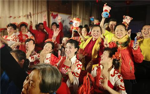 咱的节日 京台社区民众视频连线共庆元宵