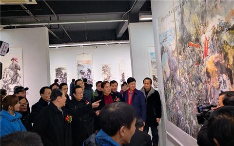 海峡两岸暨香港澳门书画名家作品展在安徽芜湖开幕.jpg