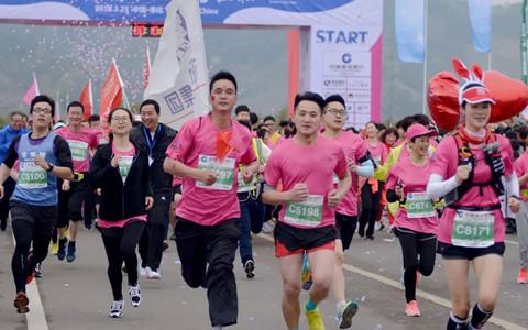 定了!宁波奉化海峡两岸桃花马拉松3月24日浪漫开跑