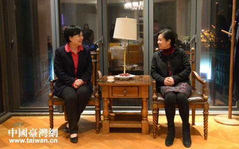 武汉市副市长徐洪兰会见电电公会大陆首席代表颜素秋一行