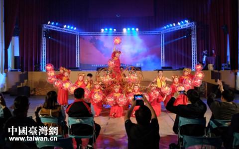 两岸和乐庆元宵 杭州元素亮南投