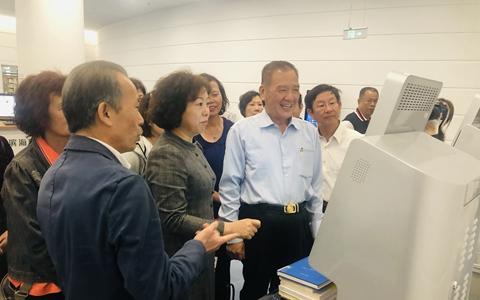 台湾新竹市前市长许明财一行到天津参访考察