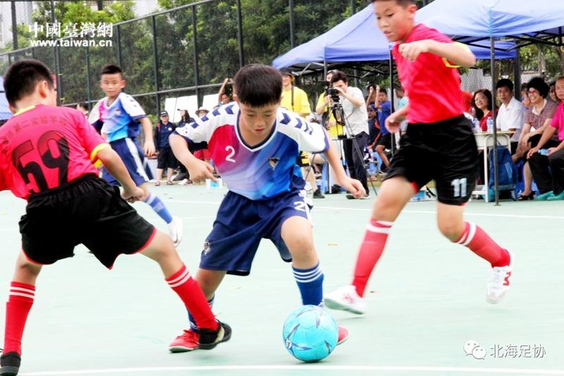 北海市第二实验学校对台湾新竹足球俱乐部球队(图片来源于北海足协).jpg