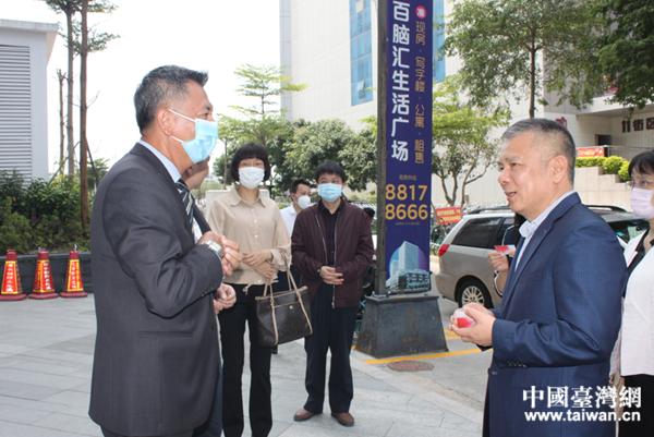 调研组在汕头调研。  (中国台湾网 发).jpg