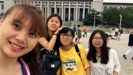 台湾青年畅游北京 体验地道京味文化(组图)