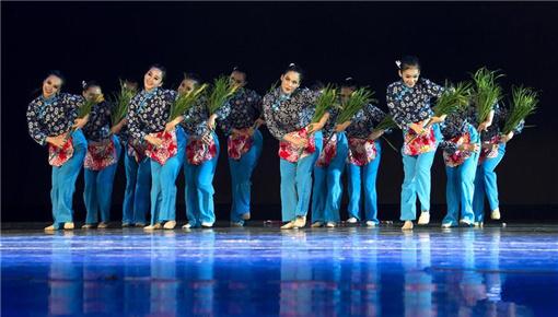 台湾表演者献艺丝绸之路国际艺术节