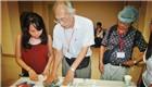 台湾书画名家走进海南大学 探讨中华文化传承与创新