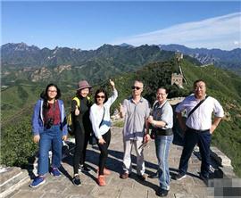 台湾媒体人河北长城行:大好河山还要亲自用脚步来丈量