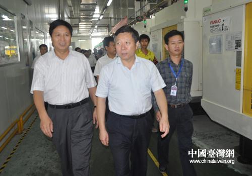 副主席李英杰到睢县调研富士康实训工厂