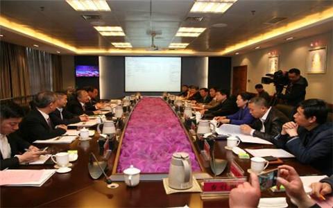 全国台企联常务副会长林易陞一行到河南焦作考察