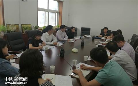 台湾青年考察郑州实习就业基地
