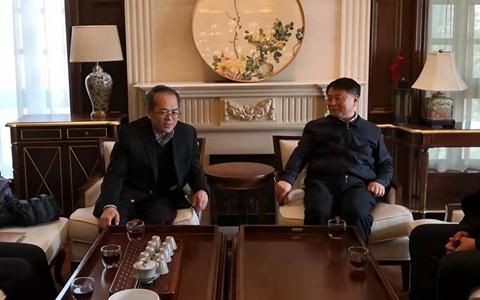曹裕江常委会见斯米克集团董事长李慈雄一行