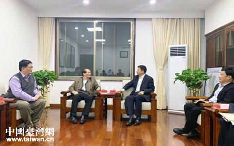 株洲市委副书记王洪斌会见台商范德炉一行