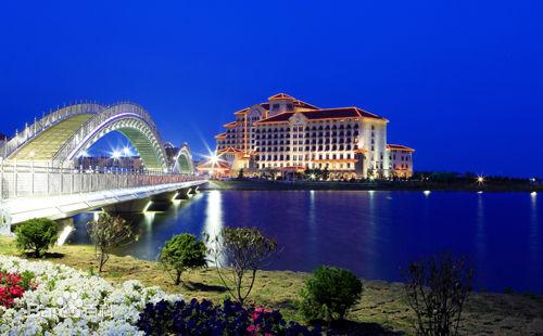 山东海阳夜景