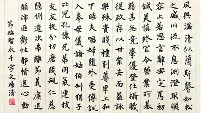 宁夏第十二届书法临摹展作品选登