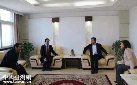 日照市岚山区委副书记、区长牟伟会见台商刘伟先生