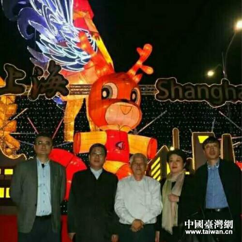 上海灯展点亮南投夜空