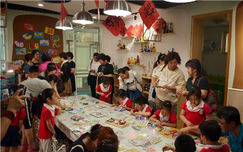 台湾新竹市儿童教保福利联合会理事长谢玉卿一行到滨海新区参访交流