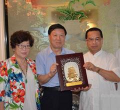台湾道教总会组团赴江西参访