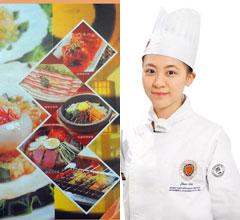 台23岁美女成亚洲年轻厨神 法国大赛获奖