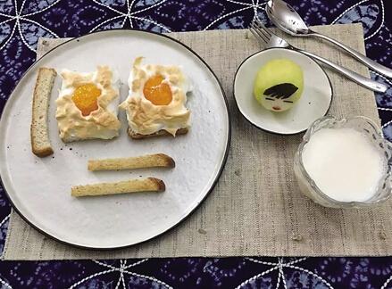 """妈妈为女儿做""""童话早餐"""" 生活是创意灵感来源"""