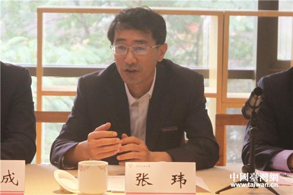 雲南師範大學黨委副書記張瑋在座談會上致辭