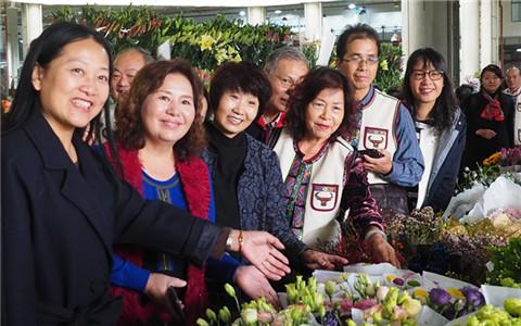 台湾苗栗妇女代表团到昆明妇女创新创业中心参观交流