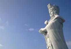 一个妈祖牵起两岸同胞 台湾参访团赴长岛交流妈祖文化