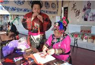 春节庙会让四川非遗文化在宝岛燃起来