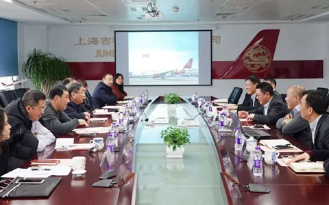 李文辉访问吉祥航空:助推企业发展 吸引台青在沪就业