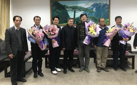 广西百色市领导走访慰问台商、台籍教师