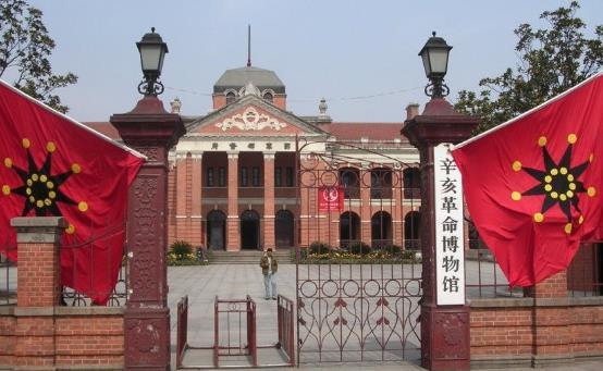 台湾退役将领参访辛亥革命武昌起义纪念馆