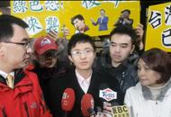 侯汉廷讯后宣布参选台北市议员。(图片来源:台湾《联合报》)副本m.jpg