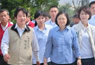 赖清德(左)、蔡英文(右)。(图片来源:台湾《中时电子报》)m.jpg