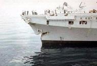 美国军舰竟然又撞船了 这次撞上日本拖船