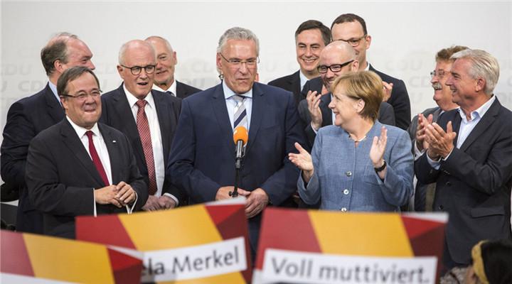 默克尔又要当德国总理了
