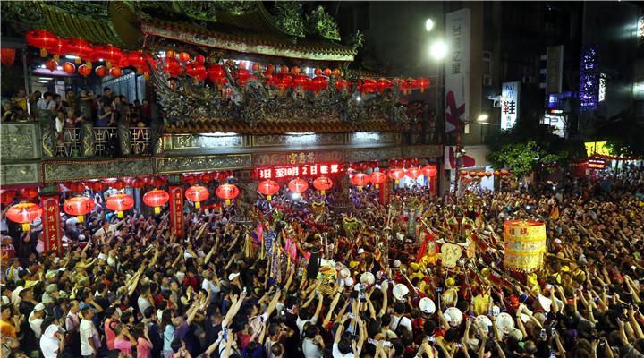 湄洲妈祖金身20年后再巡游台湾