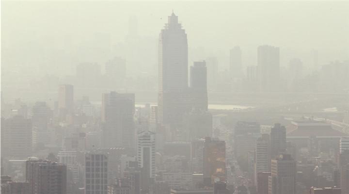 台北雾霾再次红警 距上次红警不满两周