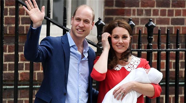 凯特王妃三胎7小时后外出 看女星产后好身材