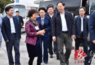 湖南省副省长张剑飞深入蓝山调研港台资企业
