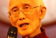 """哀!台湾某大学生课审代表称余光中没资格被称""""文人"""""""