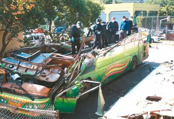 十年间台湾游览车事故盘点