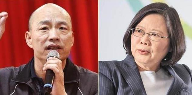 选战倒数3个月 蔡英文韩国瑜揭两岸政策底牌