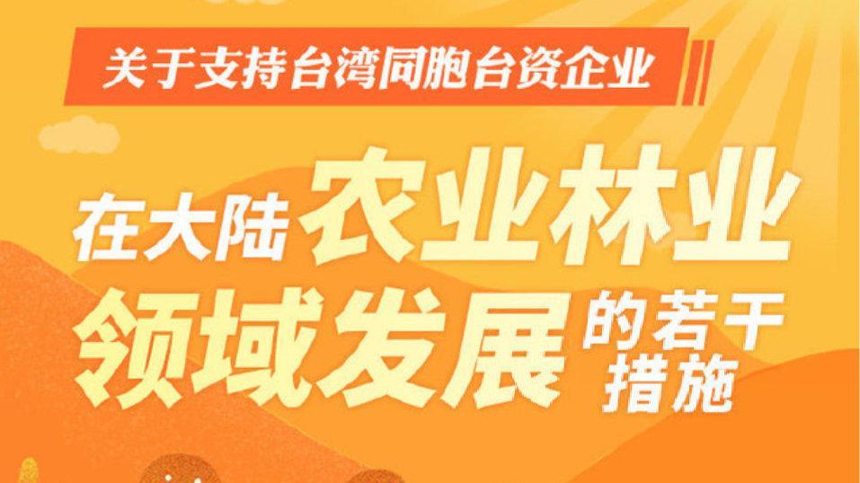 """抹黑""""农林22条"""" 民进党当局用心险恶"""