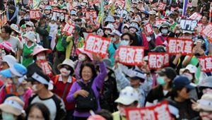 """""""正义""""了一年的台湾,收获了什么?"""